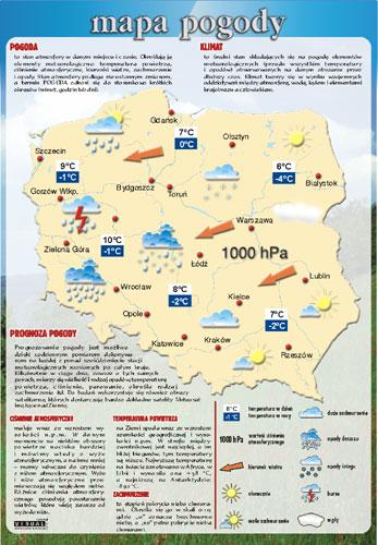 Mapa Pogody Pomoce Dydaktyczne Pomoce Szkolne Fantomy